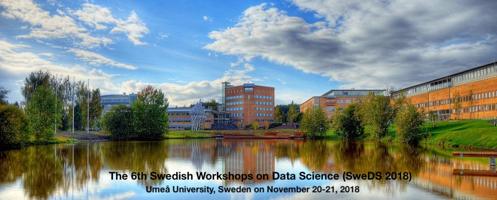 6th Swedish Workshop on Data Science